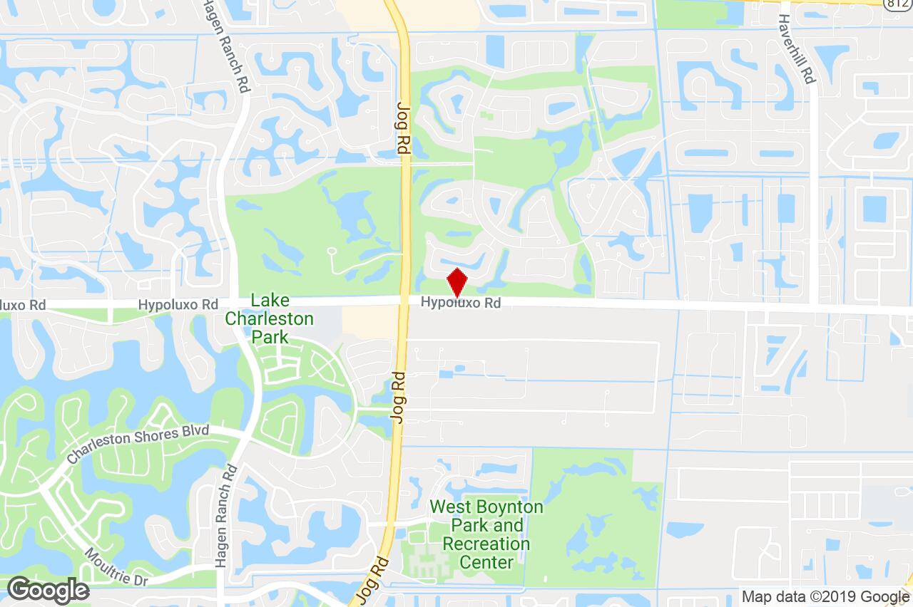6380 Hypoluxo Road, Lake Worth, Fl, 33463 - Restaurant Property For - Lake Worth Florida Map