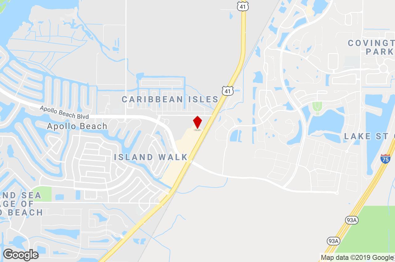 6542 U.s. Hwy 41 N., Apollo Beach, Fl, 33572 - Retail (Other - Map Of Florida Showing Apollo Beach