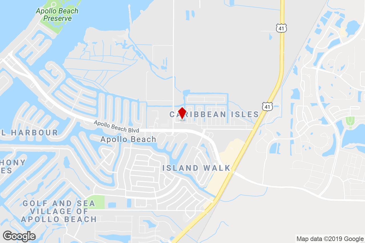 6546 Simone Shore Cir, Apollo Beach, Fl, 33572 - Residential (Land - Map Of Florida Showing Apollo Beach