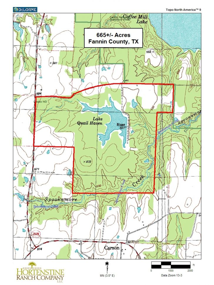 Texas Locator Map Of Public Hunting Areas