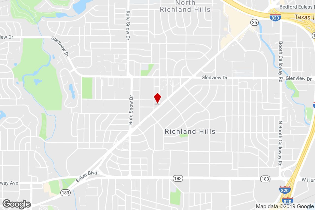 6913 Boulevard 26, North Richland Hills, Tx, 76180 - Freestanding - North Richland Hills Texas Map