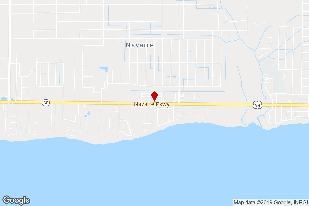 7552 Navarre Pkwy #19, Navarre, Fl, 32566 - Office Building Property - Navarre Florida Map