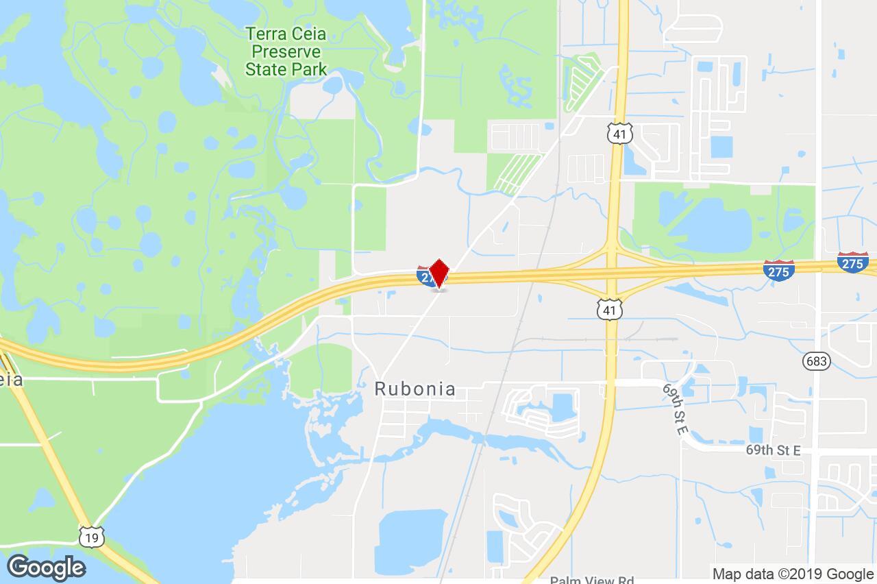 7800 Bayshore Road, Palmetto, Fl, 34221 - Industrial (Land) Property - Palmetto Florida Map