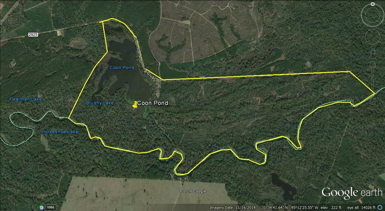 820 Acre Duck Hunters Paradise For Sale Heart Of East Texasducks - Texas Land For Sale Map