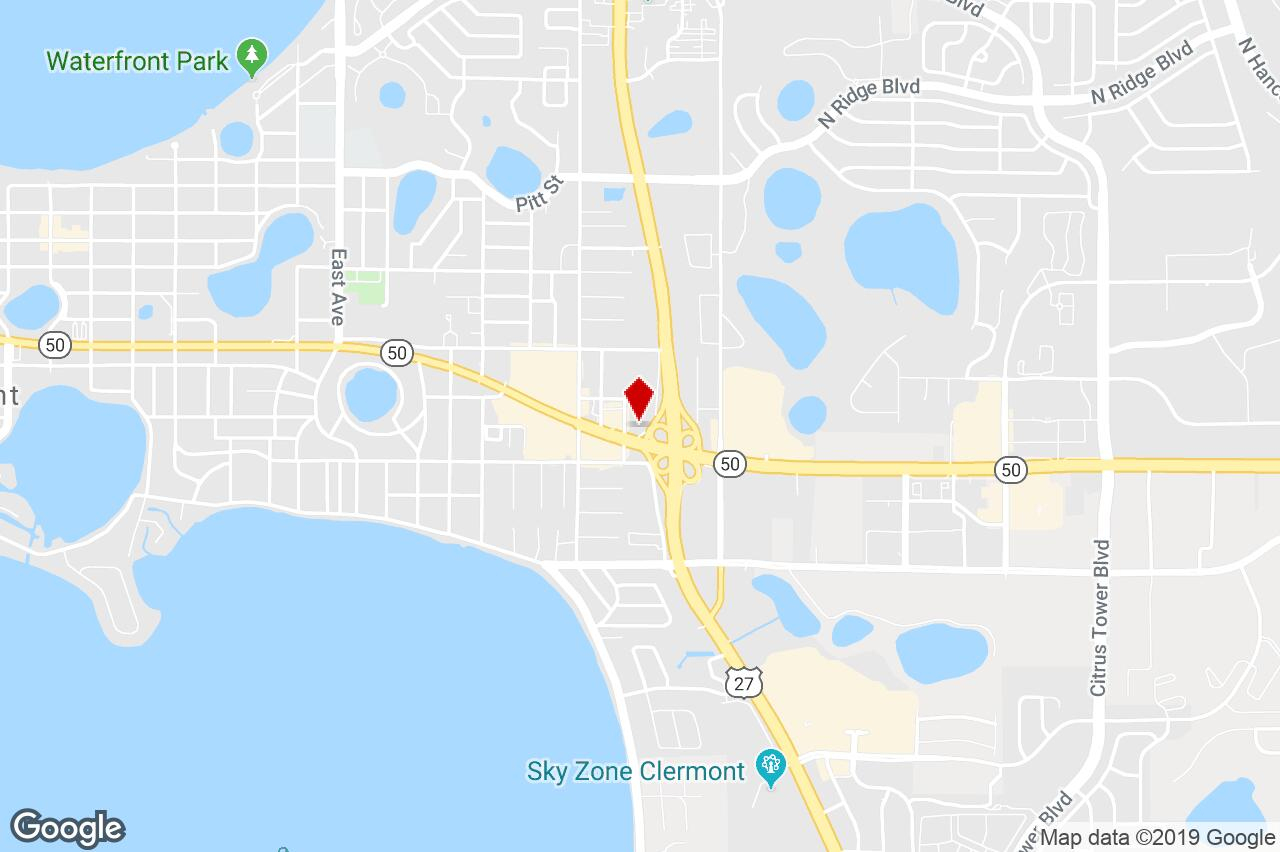 850 East Highway 50, Clermont, Fl, 34711 - Restaurant Property For - Google Maps Clermont Florida