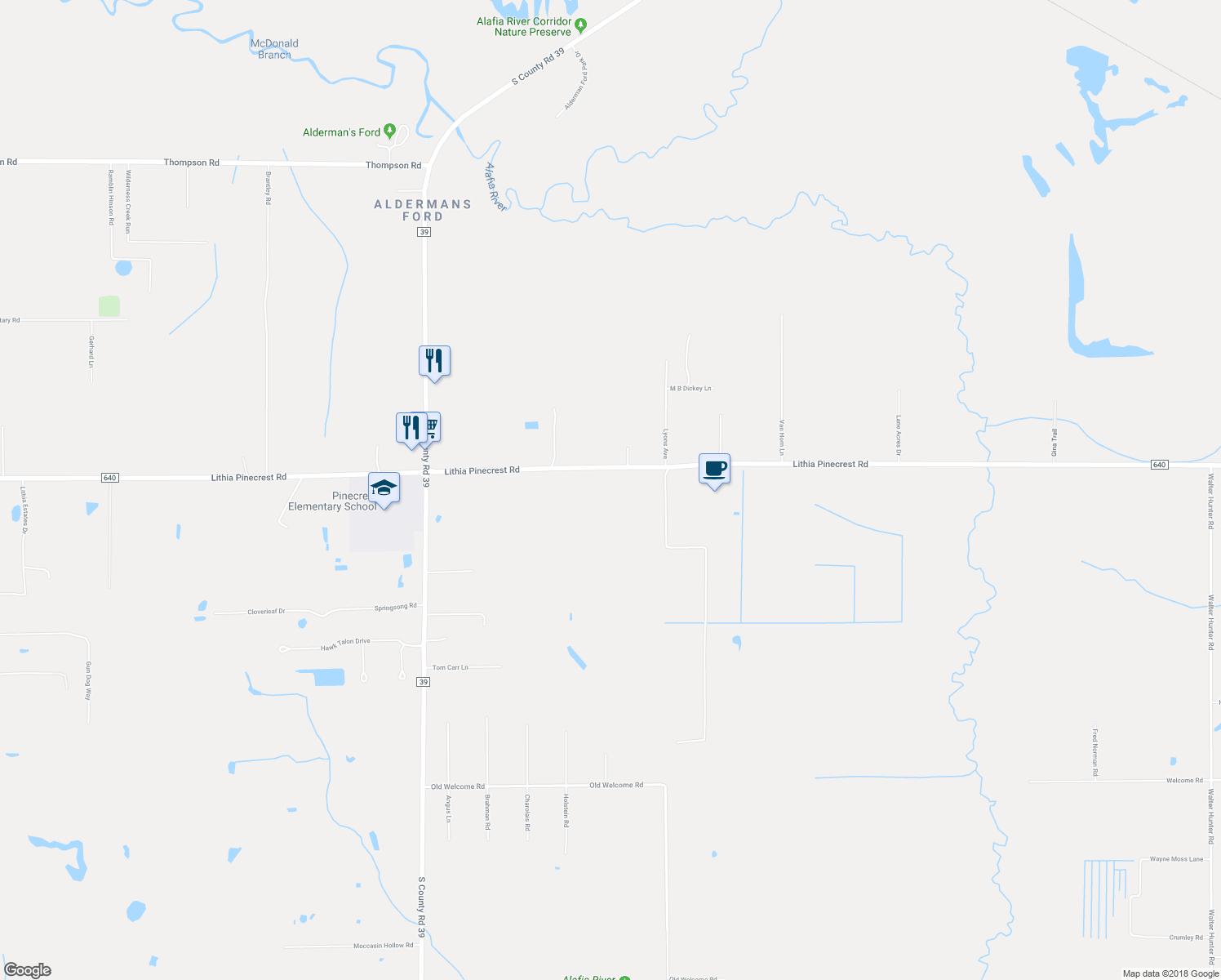 8540 Lithia Pinecrest Road, Lithia Fl - Walk Score - Lithia Florida Map