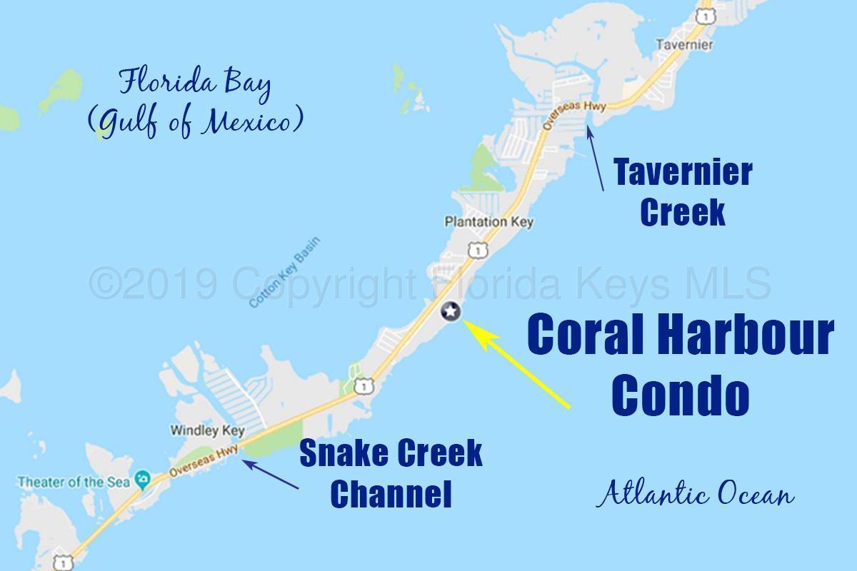 88181 Old Highway Islamorada, Fl. | Mls# 583680 | Florida Keys - Islamorada Florida Map