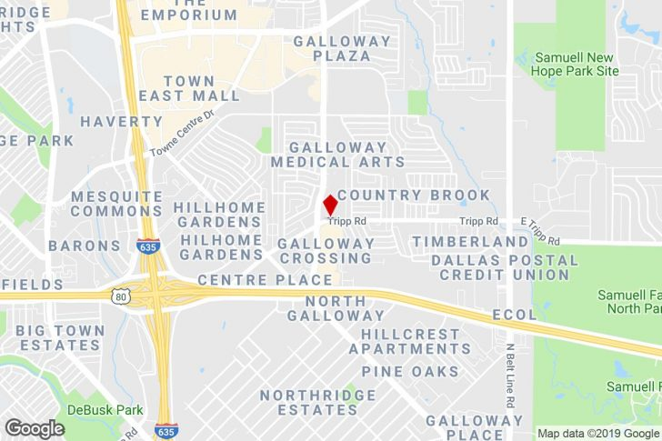 Google Maps Mesquite Texas