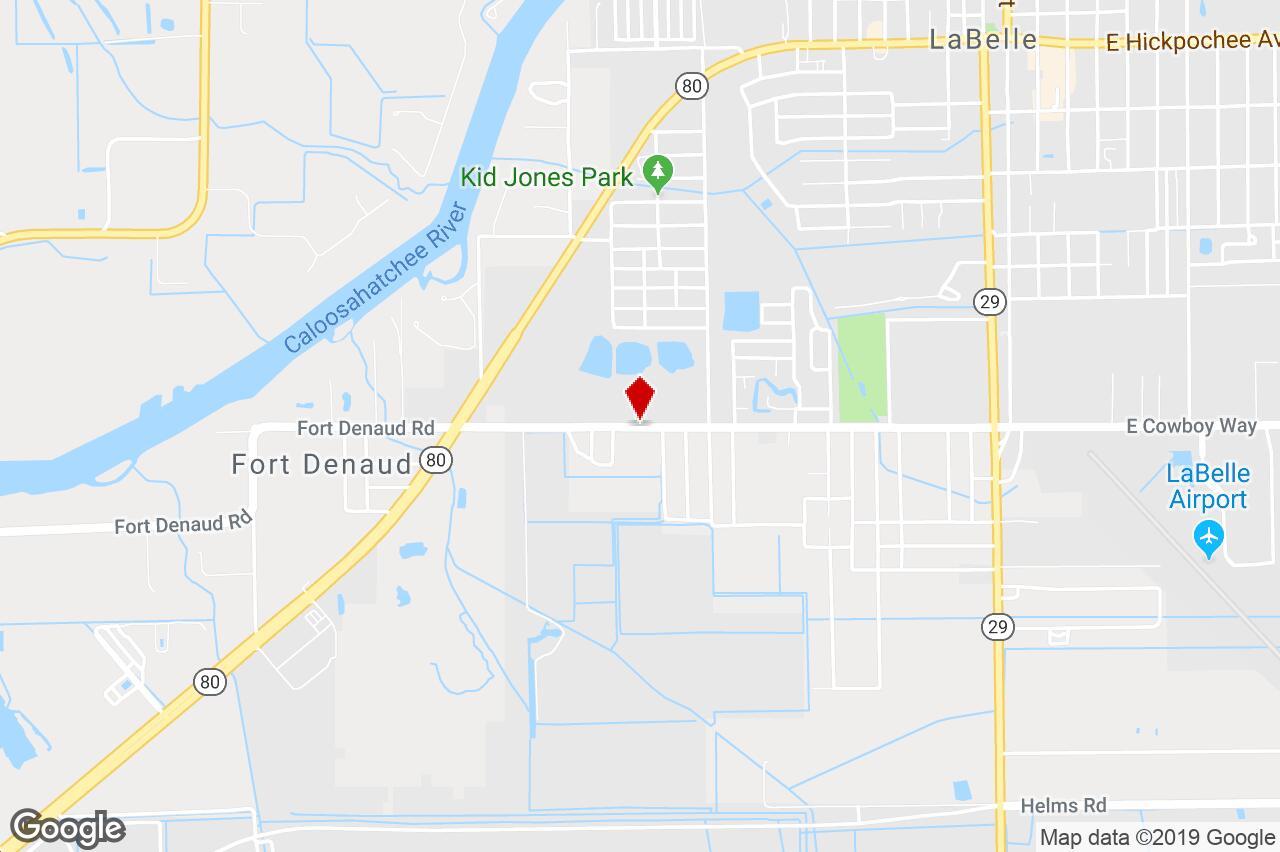 920 Cowboy Circle, Labelle, Fl, 33935 - Industrial (Land) Property - Labelle Florida Map