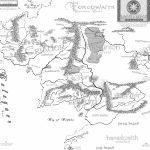 97+ Hi Res Map Of Middle Earth 2400X2424 X Post From R Lotr Mapporn   Printable Map Of Middle Earth