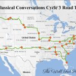 A Classical Conversations Cycle 3 Foundations Road Trip!   Wisconsin To Florida Road Trip Map