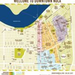 A Downloadable Map Of Downtown New Orleans; Conference Hotel Is   Printable Walking Map Of New Orleans