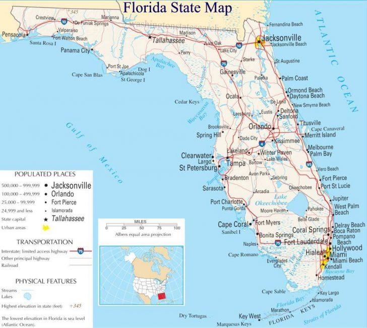 Treasure Coast Florida Map
