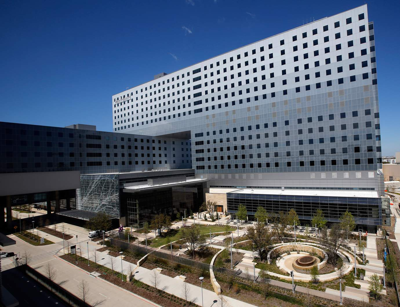 A Look Inside Of The New Parkland Hospital In Dallas - Texas Health Dallas Map