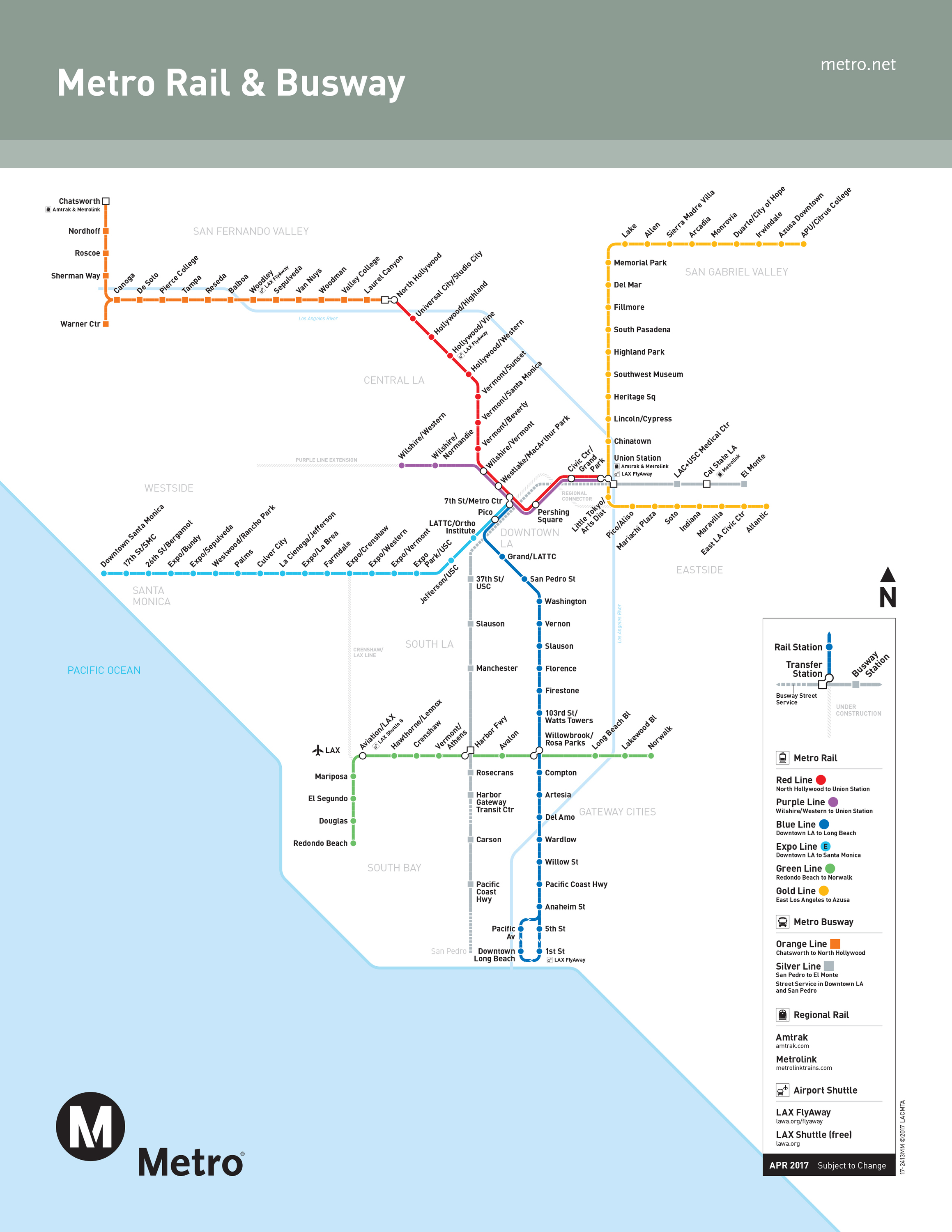 A Los Angeles Metro Guide For Getting Around L.a. Car-Free - California Metro Map