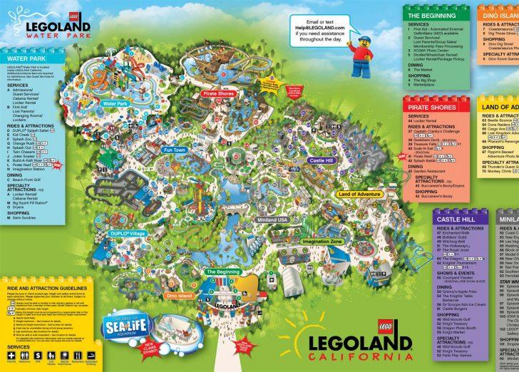 Southern California Amusement Parks Map