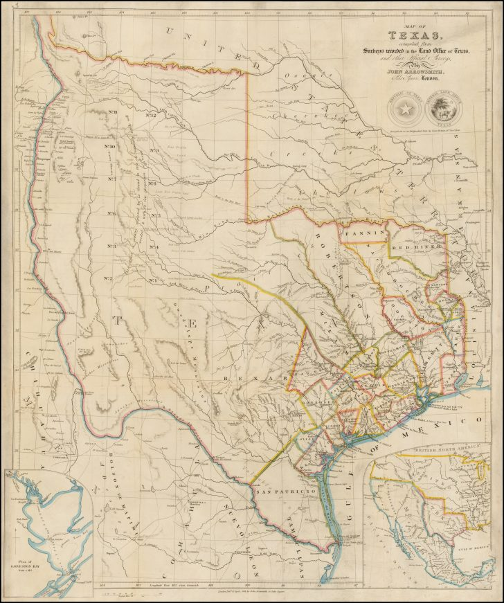 Texas General Land Office Maps
