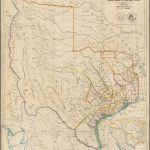 A Map Of Texas, Compiled From Surveys Recorded In The Land Office Of   Texas Land Office Maps
