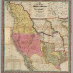 A New Map Of Texas Oregon And California With The Regions Adjoining   Oregon California Map