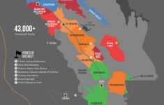 A Simple Guide To Napa Wine (Map) | Wine Folly – California Vineyards Map