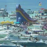 A Very Crowded Crab Island Destin, Florida   Panhandle Paradise   Crab Island Destin Florida Map