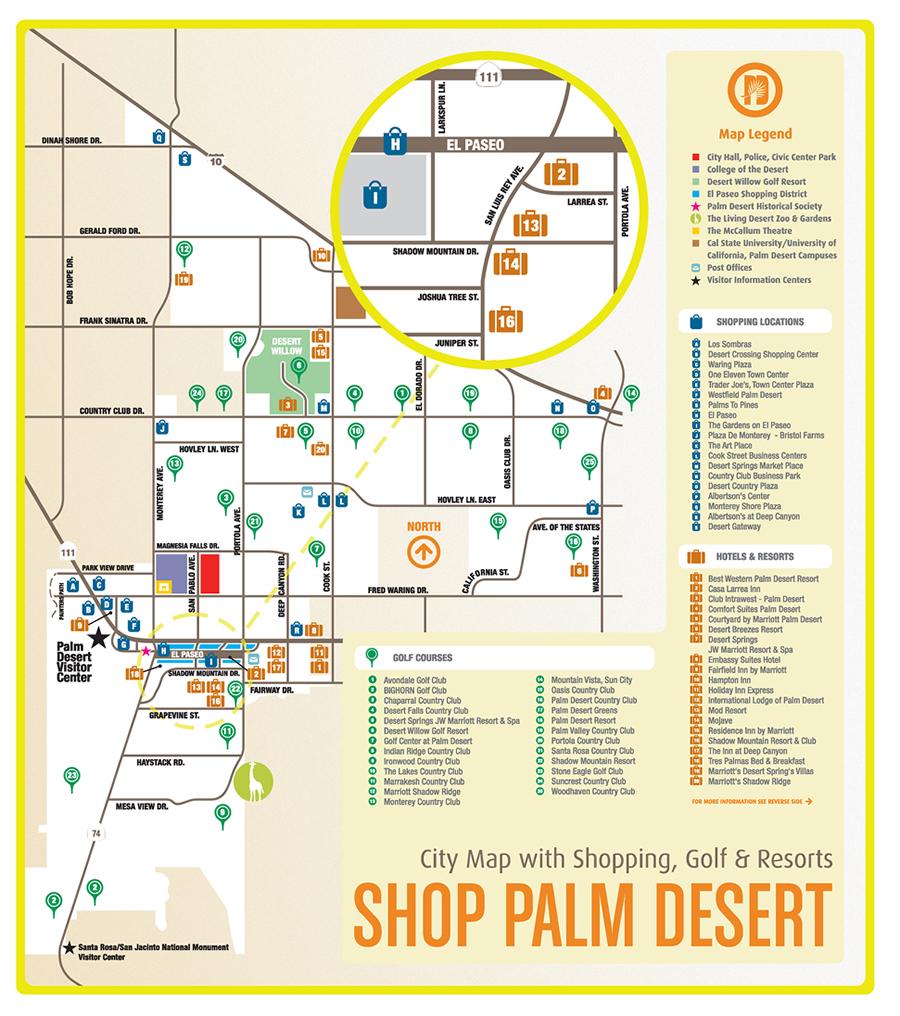 Aaebeffedecdf Large Map Of California Map Palm Springs - Klipy - Where Is Palm Desert California Map