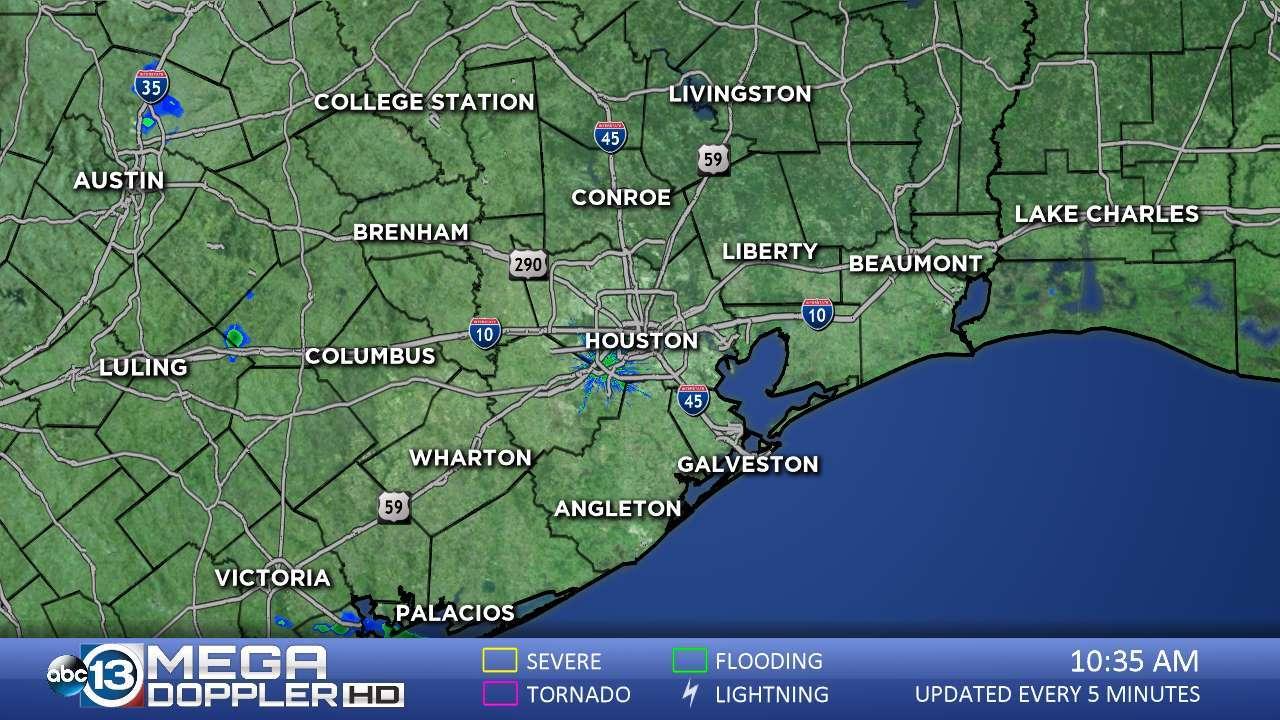 Abc13 News -- Ktrk Houston And Southeast Texas News | Abc13 - Radar Map For Houston Texas
