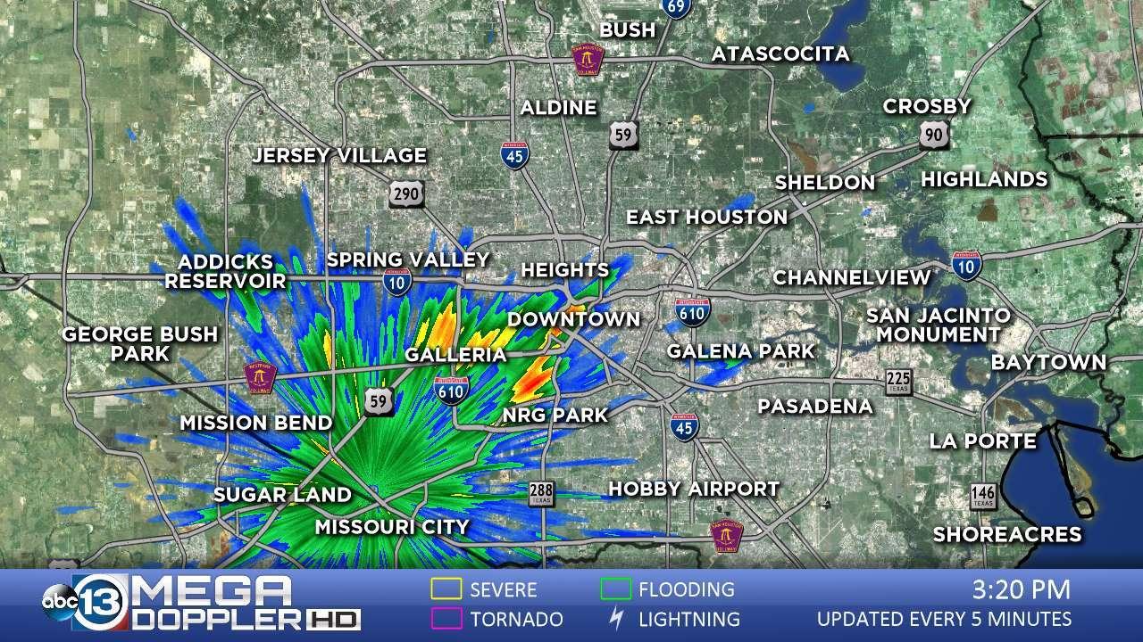 Abc13 News -- Ktrk Houston And Southeast Texas News | Abc13 - Texas Radar Map