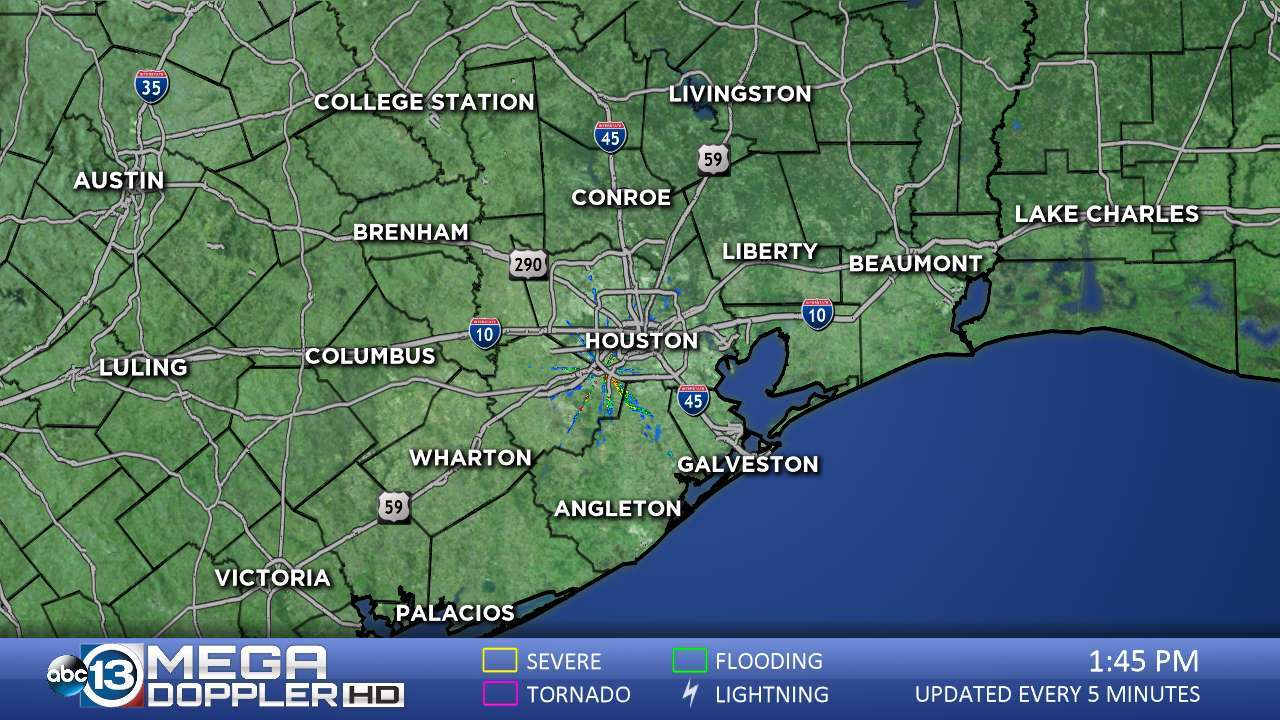 Abc13 News -- Ktrk Houston And Southeast Texas News | Abc13 - Texas Weather Map Today