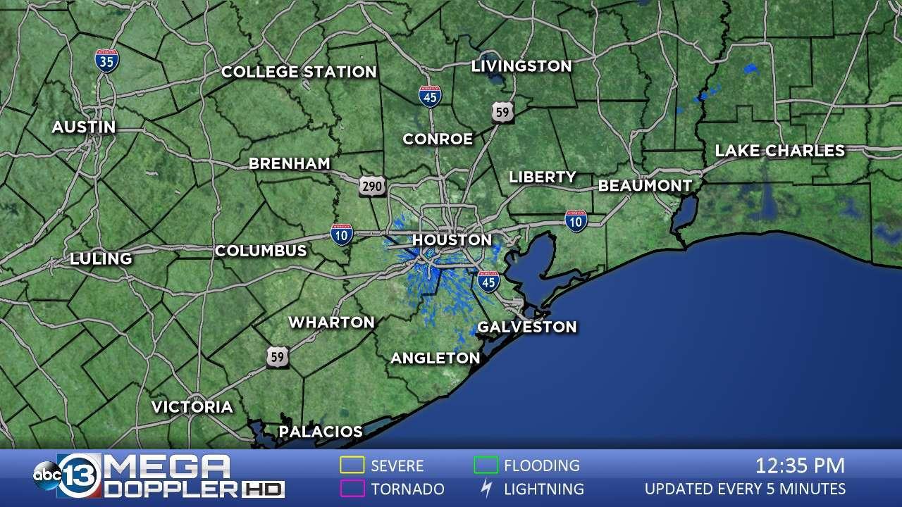 Abc13 News -- Ktrk Houston And Southeast Texas News | Abc13 - Texas Weather Map