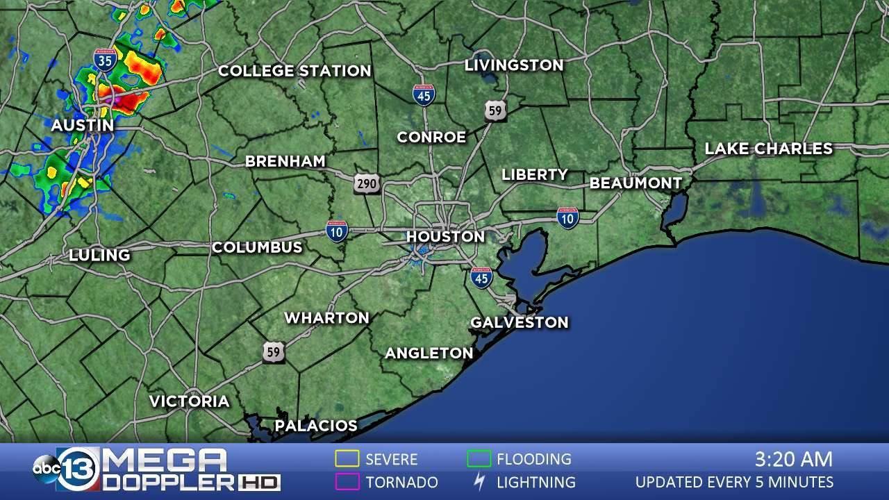 Abc13 News -- Ktrk Houston And Southeast Texas News | Abc13 - Texas Weather Radar Maps Motion