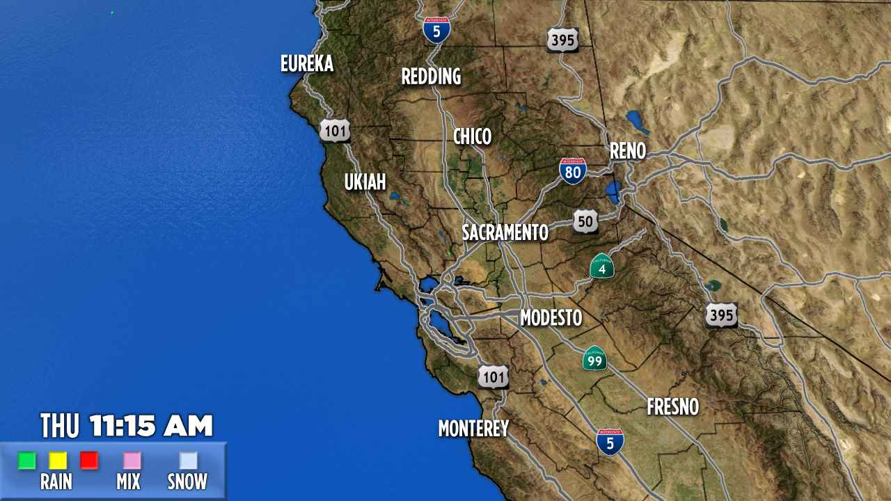 Abc7 News - Kgo Bay Area And San Francisco News | Abc7News - Northern California Radar Map