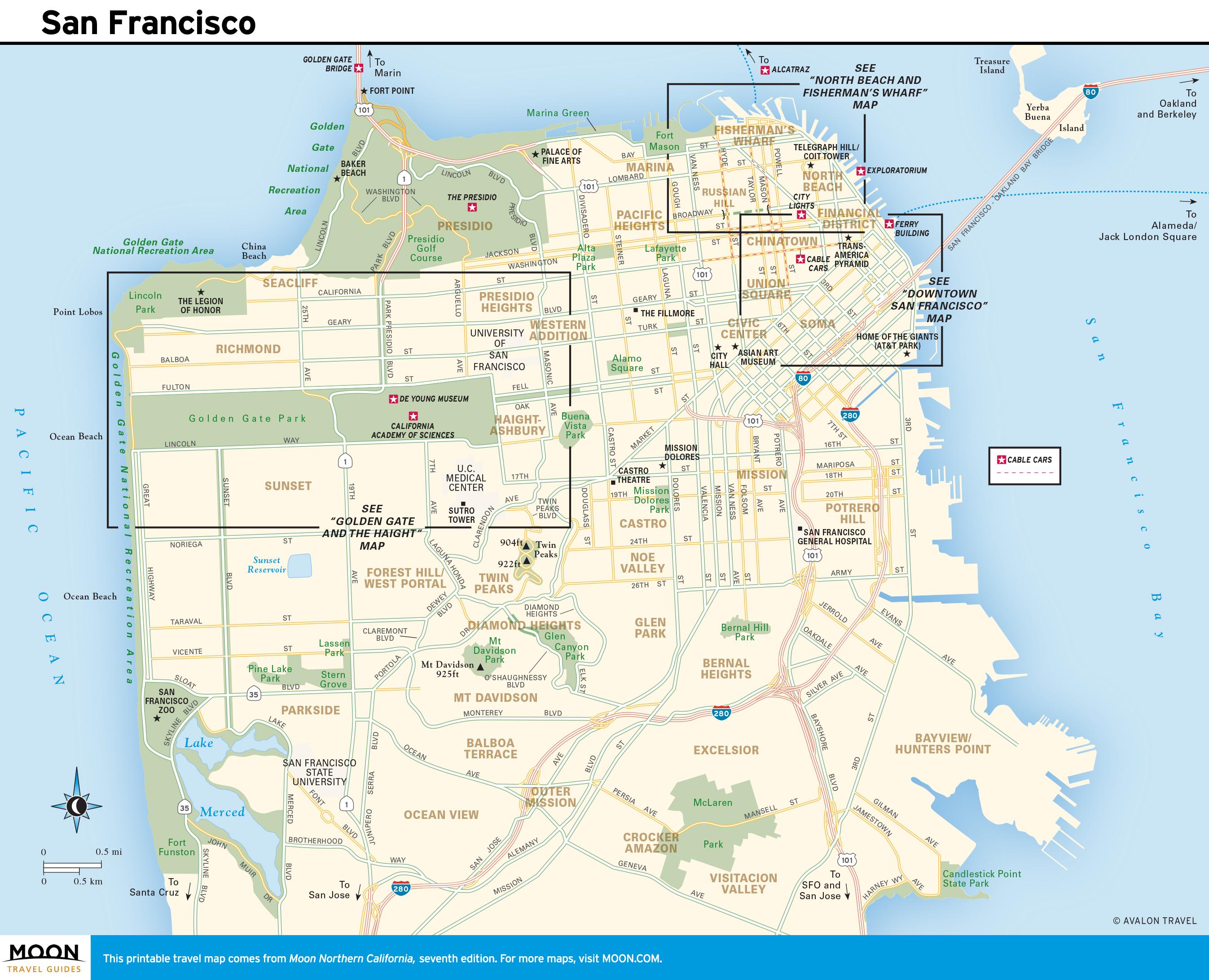 Acros Google Maps California Map Of California Coast North Of San - Map Of California Coast North Of San Francisco