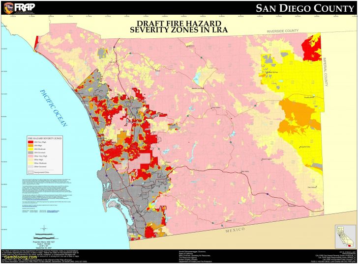 Active Fire Map For California