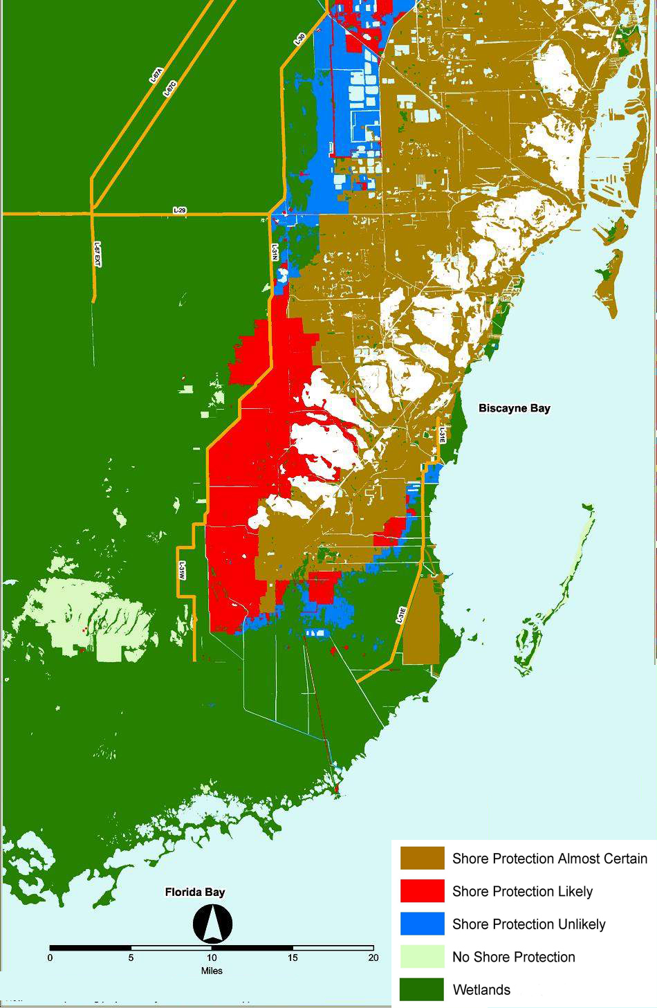 Adapting To Global Warming - Florida Global Warming Flood Map