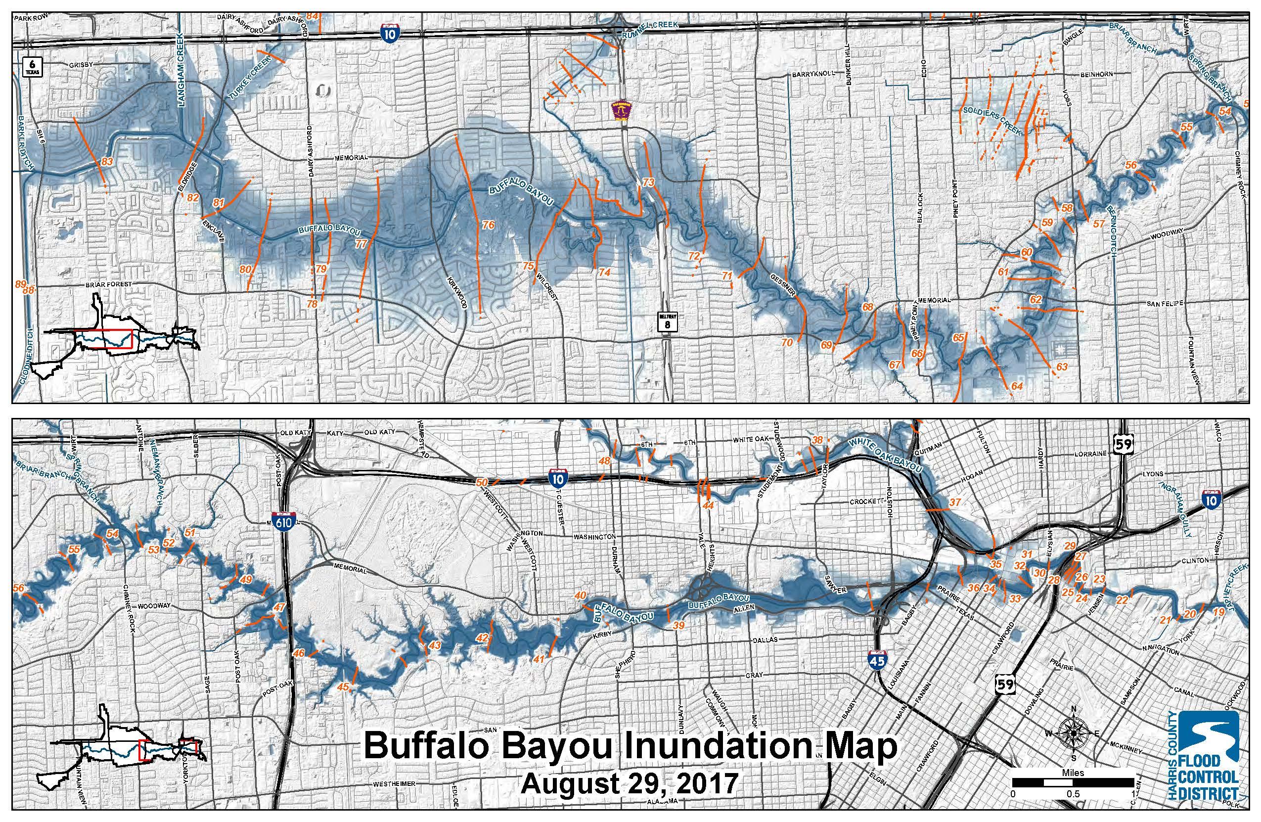 Addicks And Barker Potential Flood Maps - Clear Lake Texas Flood Map