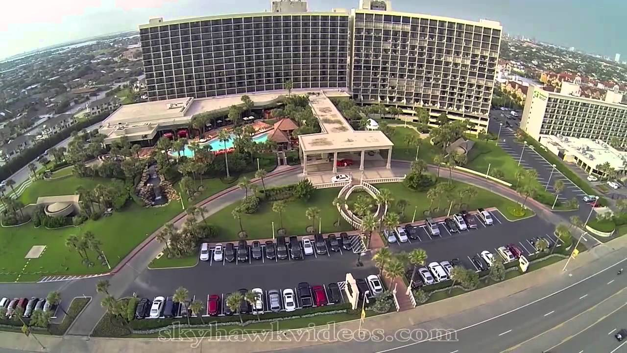 Aerial San Luis Hotel - Galveston, Tx - Youtube - Map Of Hotels In Galveston Texas