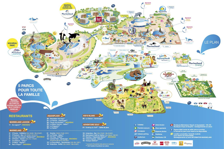 Afficher L'image D'origine | Marineland | Parc - Marineland Florida Map