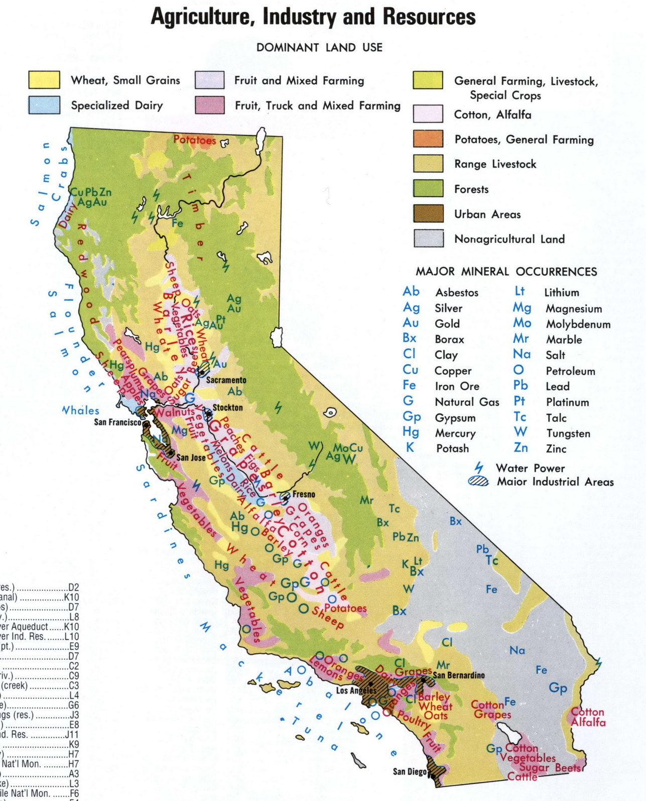 Agri Map With Image Map Of California National Parks - Klipy - California State And National Parks Map