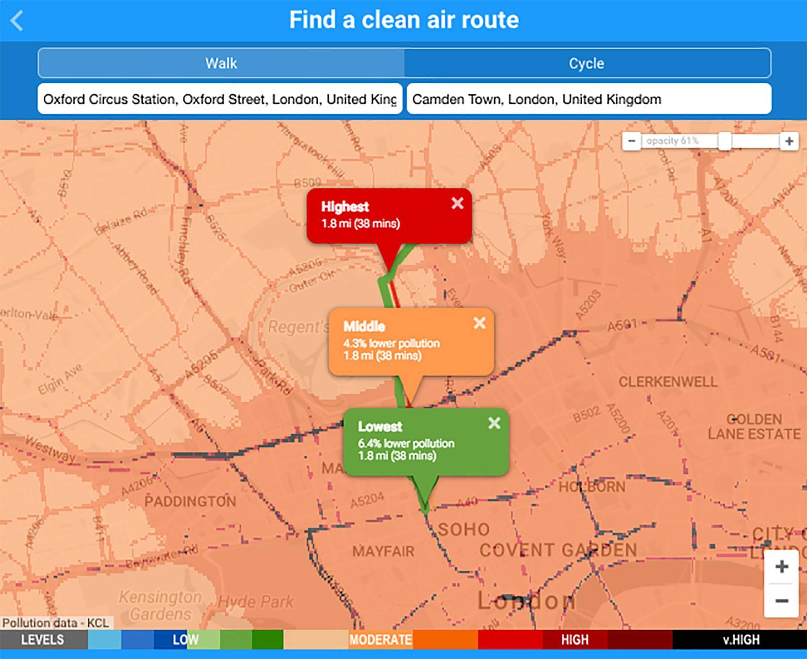 Air Pollution Map Reveals Pollution In London, Uk And Europe | Wired Uk - Texas Air Quality Map
