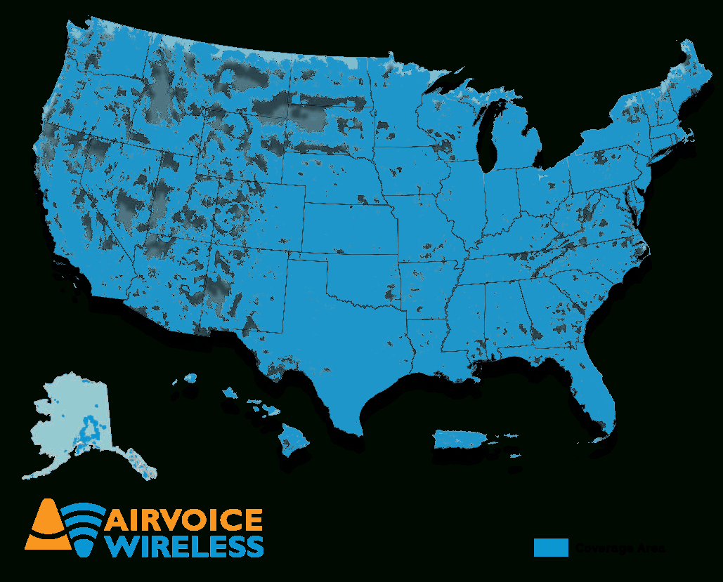Airvoice Wireless Affordable Prepaid Cell Phones Carrier - Florida Cell Phone Coverage Map