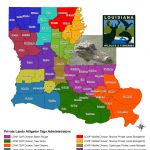 Alligator Hunting | Louisiana Department Of Wildlife And Fisheries   Alligators In Florida Map