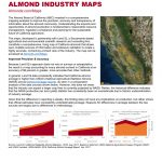 Almond Industry Maps | California Almonds   Your Favorite Easy Snack   California Almond Production Map