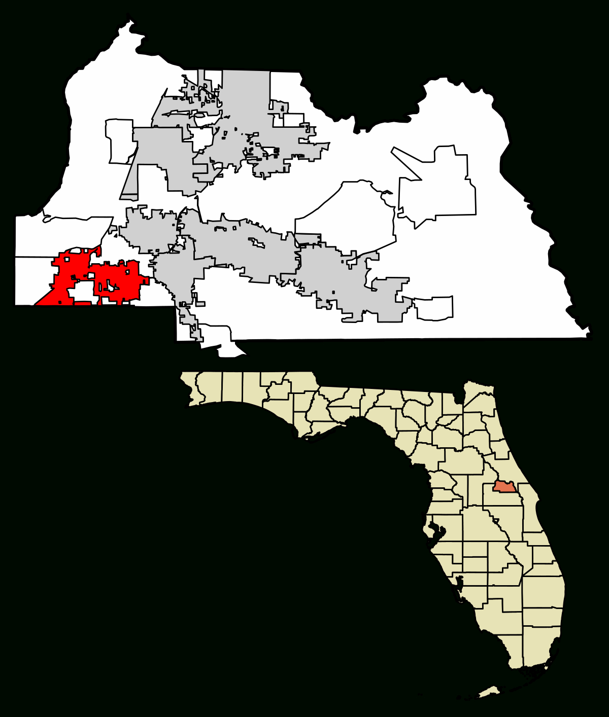 Altamonte Springs, Florida - Wikipedia - White Springs Florida Map