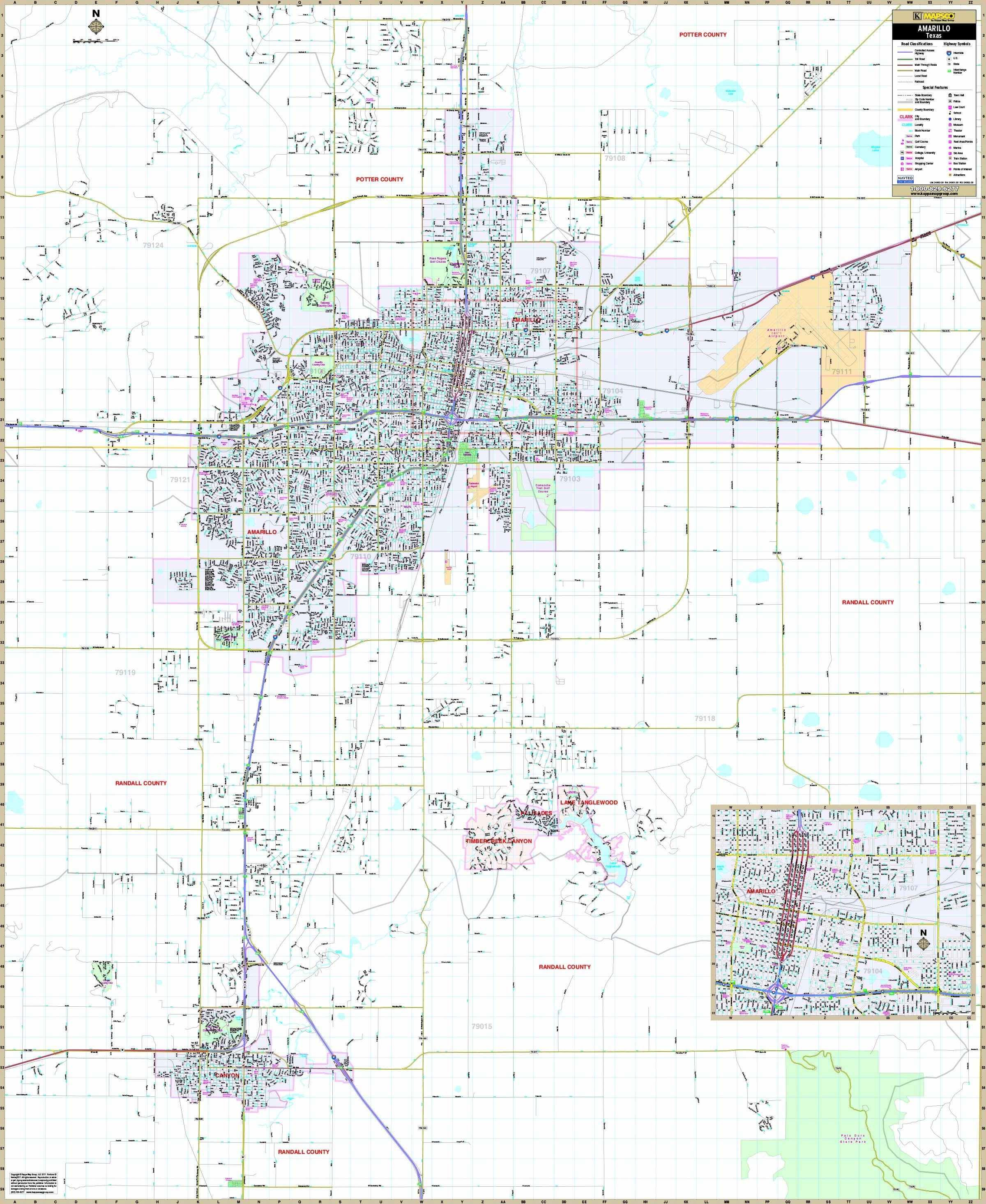 Amarillo Metro Map1 13 Amarillo Tx Map | Ageorgio - Printable Map Of Amarillo Tx