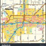 Amarillo Texas Area Map Image Vectorielle De Stock (Libre De Droits   Where Is Amarillo On The Texas Map