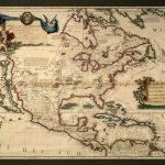 America Setentrionale – Map Of The North America | Picture This   Early California Maps