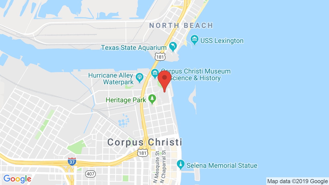 American Bank Center - Shows, Tickets, Map, Directions - Texas State Aquarium Map