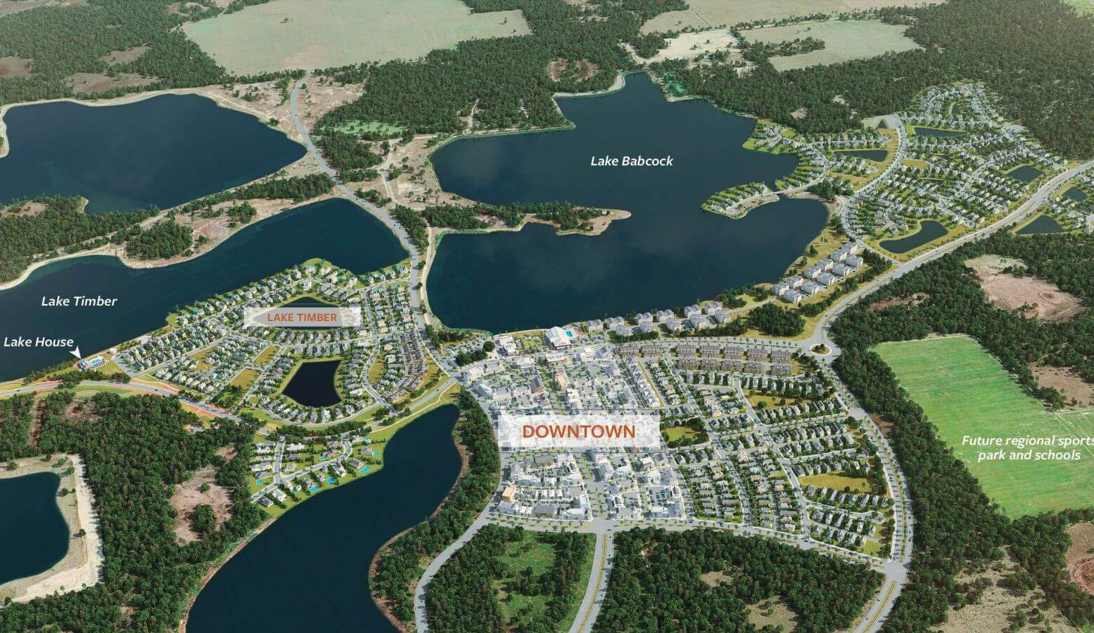 America's First Solar-Powered Community Attracts Buyers With - Babcock Ranch Florida Map