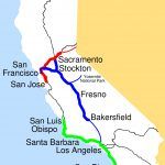 Amtrak California Simplified Map • Mapsof   Amtrak California Map